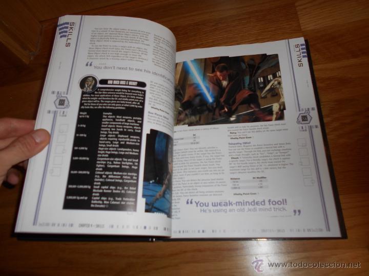 Juegos Antiguos: Star Wars-revised Core Rulebook-Roleplaying Game-suplemento-RPG JUEGO DE ROL MUY RARO - Foto 3 - 54062355