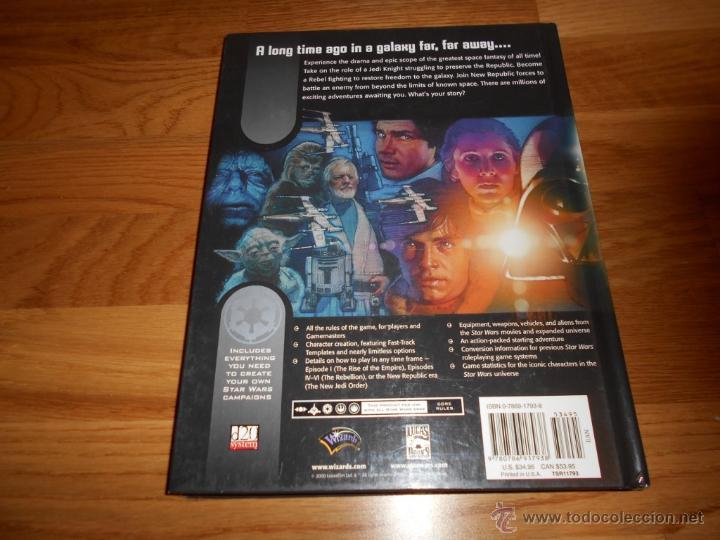 Juegos Antiguos: Star Wars-revised Core Rulebook-Roleplaying Game-suplemento-RPG JUEGO DE ROL MUY RARO - Foto 4 - 54062355