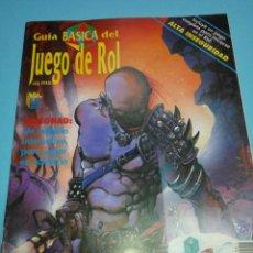 Juegos Antiguos: JUEGO DE ROL LIBRO DE ROL GUÍA BÁSICA DEL JUEGO DE ROL EDICIONES ZINCO. Lote 54072273