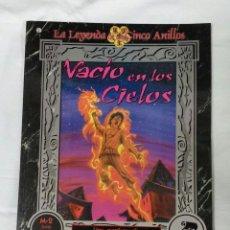 Juegos Antiguos: VACIO EN LOS CIELOS , SUPLEMENTO DE ROL PARA LA LEYENDA DE LOS CINCO ANILLOS. Lote 112217436