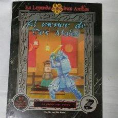 Juegos Antiguos: EL MENOR DE DOS MALES SUPLEMENTO DE ROL PARA LA LEYENDA DE LOS CINCO ANILLOS DE LA FACTORIA DE IDEAS. Lote 97724080