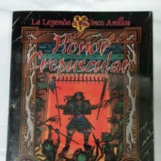 Juegos Antiguos: HONOR CREPUSCULAR SUPLEMENTO DE ROL PARA LA LEYENDA DE LOS CINCO ANILLOS DE LA FACTORIA DE IDEAS. Lote 97724251