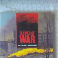 Juegos Antiguos: MANUAL JUEGO FLAMES OF WAR WWII MINIATURES GAME PRIMERA EDICION EN INGLÉS. Lote 54276187