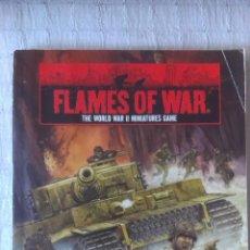 Juegos Antiguos: MANUAL JUEGO FLAMES OF WAR WWII MINIATURES GAME SEGUNDA EDICION EN INGLÉS. Lote 54276209