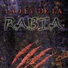 Juegos Antiguos: LA LEY DE LA RABIA. PARA TEATRO DE LA MENTE. JUEGO DE ROL. NUEVO. LA FACTORÍA. Lote 262077110