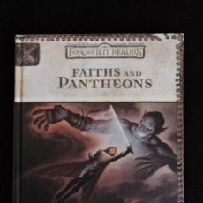 Juegos Antiguos: FORGOTTEN REALMS - REINOS OLVIDADOS - FAITHS AND PANTHEONS - CAMPAIGN ACCESSORY - INGLÉS - ROL . Lote 54435870