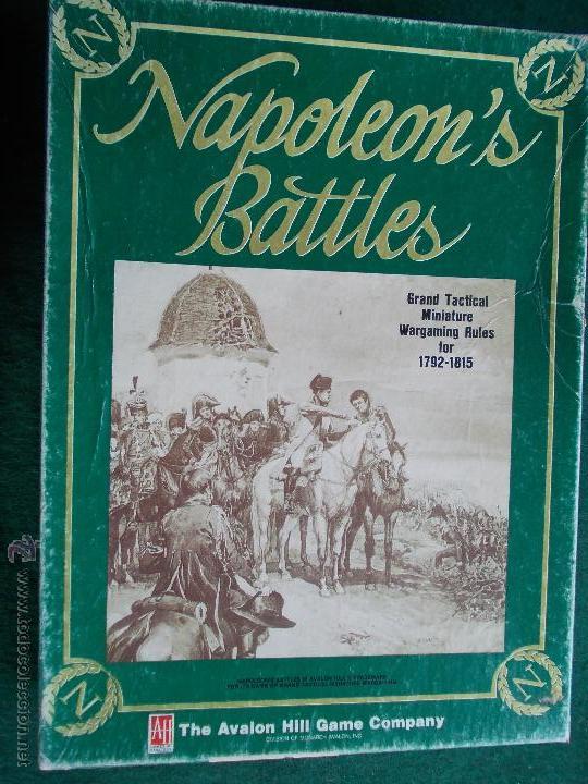 JUEGO NAPOLEÓN BATLES DE LOS 80 COMPLETO (Juguetes - Rol y Estrategia - Otros)