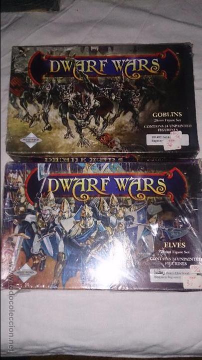 DWARF WARS 2 CAJAS NUEVAS GOBLINS Y ELFOS (Juguetes - Rol y Estrategia - Otros)