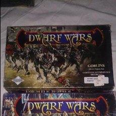Juegos Antiguos: DWARF WARS 2 CAJAS NUEVAS GOBLINS Y ELFOS. Lote 54853429