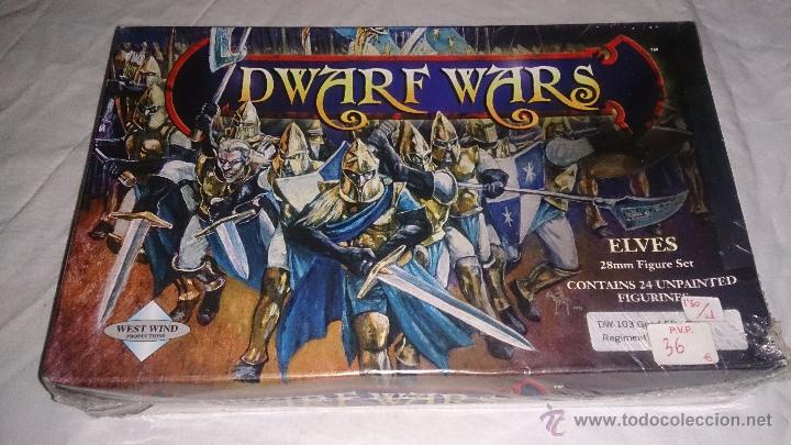 DWARF WARS CAJA DE ELFOS CON 24 FIGURAS DE 28 MM (Juguetes - Rol y Estrategia - Otros)