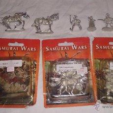 Juegos Antiguos: LOTE DE 3 BLISTERS DE SAMURAI WARS . Lote 54854947