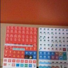 Juegos Antiguos: FICHAS WARGAME REDS 1ª EDICION DE GMT. Lote 54926076