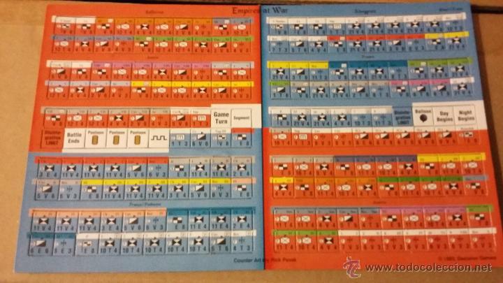 FICHAS WARGAME EMPIRES AT WAR DE DECISION GAMES (Juguetes - Rol y Estrategia - Otros)