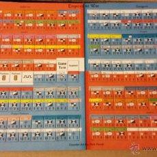 Juegos Antiguos: FICHAS WARGAME EMPIRES AT WAR DE DECISION GAMES. Lote 54926094