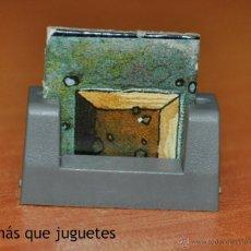 Juegos Antiguos: FICHA TRAMPA Y BASE ORIGINALES DEL JUEGO HERO QUEST. AÑO 1.989. Lote 55074311