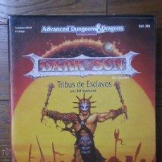 Juegos Antiguos: TRIBUS DE ESCLAVOS. PARA DARK SUN. AD&D. ZINCO.. Lote 180154793