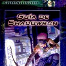 Juegos Antiguos: GUÍA DE SHADOWRUN. PARA SHADOWRUN. JUEGO DE ROL. NUEVO. LA FACTORIA DE IDEAS.. Lote 140064717