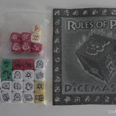 Juegos Antiguos: JUEGO DICEMASTER. DADOS Y MANUAL.. Lote 55205279