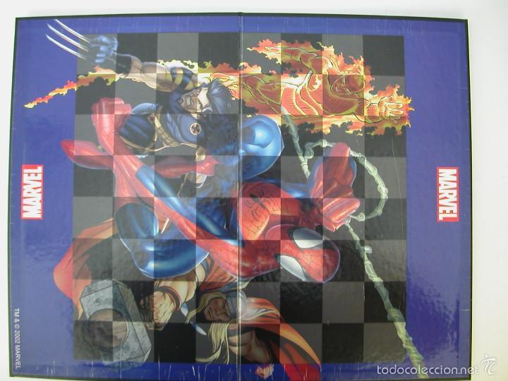 Juegos Antiguos: AJEDREZ MARVEL. NUEVO - Foto 3 - 55225233