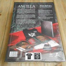 Juegos Antiguos: VAMPIRO LA MASCARADA 20 ANIVERSARIO - CAJA NEGRA MECENAZGO ANCILLA XL - ROL - NOSOLOROL - PRECINTADA. Lote 103685822