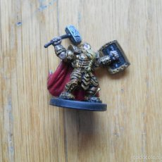 Juegos Antiguos: FIGURA MALE DWARF PALADIN, 2009 D&D HEROES, . Lote 55350297