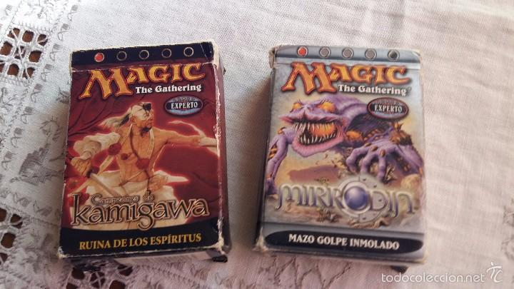 Juegos Antiguos: MAGIC THE GATERING LOTE DE CAJAS PARA CARTAS MIRRODIN AÑO 2003 USA Y KAMIGAWA AÑO 2004 USA VER FOTOS - Foto 1 - 55366016