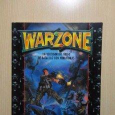 Juegos Antiguos: WARZONE, MANUAL BÁSICO. Lote 55534018