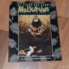 Juegos Antiguos: EL LIBRO DEL CLAN MALKAVIAN VAMPIRO: LA MASCARADA. Lote 55566615