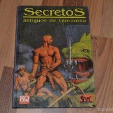 Juegos Antiguos: SECRETOS ANTIGUOS DE GLORANTHA . Lote 55568134