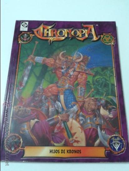 CHRONOPIA - HIJOS DE KRONOS - TARGET GAMES (Juguetes - Rol y Estrategia - Juegos de Rol)