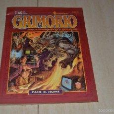 Juegos Antiguos: EL GRIMORIO SHADOWRUN MANUAL DE TAUMATURGIA PRACTICA . Lote 55692812