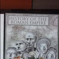 Juegos Antiguos: WARGAME HISTORY OF THE ROMAN EMPIRE, DE UGD. Lote 56100557