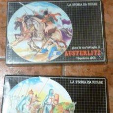 Juegos Antiguos: 2 JUEGO ESTRATEGIA ROL BATALLA AUSTERLITZ NAPOLEON . LA III CROCIATA CRUZADA MALIPIERO. Lote 56192536