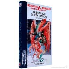 Juegos Antiguos: DUNGEONS & DRAGONS Nº 1 / PRISIONEROS DE PAX THARKAS / TIMUN MAS TSR RPG 1987 MORRIS SIMON. Lote 55691515