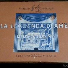 Juegos Antiguos: MAGNIFICO LIBRO TEATRO. Lote 56231921