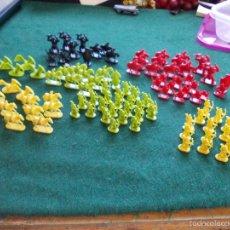 Juegos Antiguos: LOTE 104 FIGURAS SEÑOR DE LOS ANILLOS PLÁSTICO ESCALA 1/ 72 APROXIMADO. Lote 109528610
