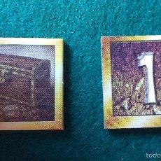 Jogos Antigos: INDICADOR DE COFRE DE TESORO DE ORO 1, DESCENT VIAJE A LAS TINIEBLAS 1ª EDICION. Lote 56374806