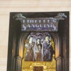 Juegos Antiguos: VAMPIRO EDAD OSCURA: LIBELLUS SANGUINIS 2 - JUEGO DE ROL - LA FACTORÍA. Lote 56468247