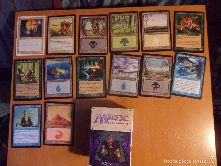 Juegos Antiguos: MAGIC. THE GATHERING. DECKMASTER. LOTE DE 14 CARTAS Y CAJITA. - Foto 1 - 56983474
