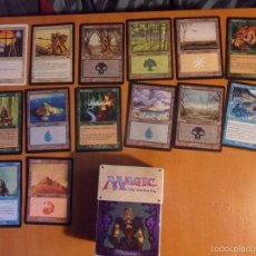 Juegos Antiguos: MAGIC. THE GATHERING. DECKMASTER. LOTE DE 14 CARTAS Y CAJITA.. Lote 56983474