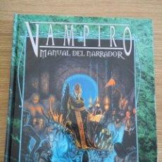 Juegos Antiguos: VAMPIRO MANUAL DEL NARRADOR - LA FACTORIA - EXCELENTE ESTADO. Lote 57188621