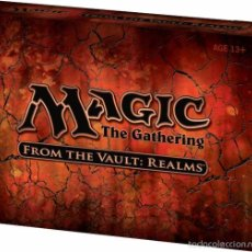 Juegos Antiguos: MAGIC THE GATHERING - FROM THE VAULT: REALMS. Lote 57322779
