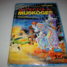 Juegos Antiguos: CAR WARS - VIOLENCIA EN MUSKOGEE. Lote 57399771
