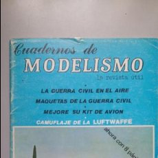 Juegos Antiguos: WARGAME EL BARON ROJO, REVISTA CUADERNOS DE MODELISMO.. Lote 57433823