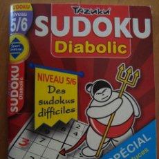 Juegos Antiguos: SUDOKU TAZUKU DIABOLIC 2008. Lote 57579082