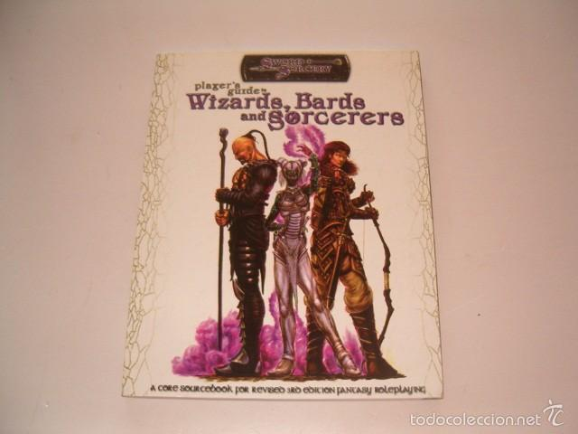 MICHAEL GILL, KEVIN KULP, ETHAN SKEMP. PLAYER'S GUIDE TO WIZARDS, BARDS AND SORCERERS. RM75243. (Juguetes - Rol y Estrategia - Juegos de Rol)