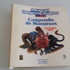 Juegos Antiguos: COMPENDIO DE MONSTRUOS VOLUMEN 1 DUNGEONS AND DRAGONS. Lote 57848429