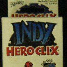 Alte Spiele - INDY - HERO CLIX . BOOSTER PACK - MUÑ-32,2 - BUEN ESTADO - 57979247
