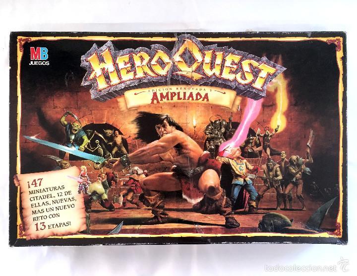 Hero Quest Edicion Renovada Y Ampliada Mb Ver Comprar Juegos De