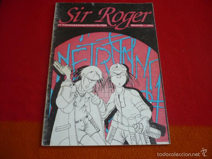 SIR ROGER Nº 2 REVISTA FANZINE JUEGOS DE ROL AD&D MUTANTES EN LA SOMBRA CYBERPUNK ARS MAGICA (Juguetes - Rol y Estrategia - Juegos de Rol)